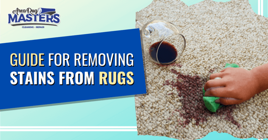 how to remove stain from rug