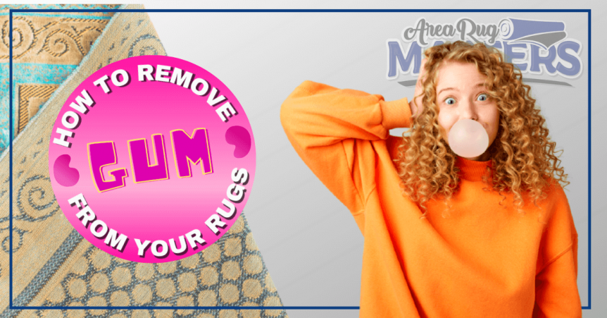 how to remove gum from rug